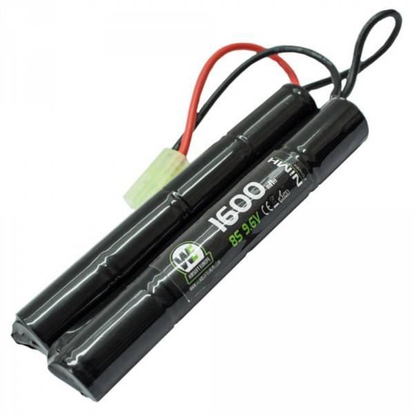 Bilde av Batteri NiMH 9.6V 1600mAh - Cranestock/Nunchuck -