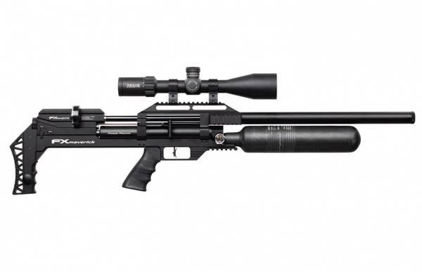 Bilde av FX Maverick Sniper PCP Luftgevær Svart - 6.35mm