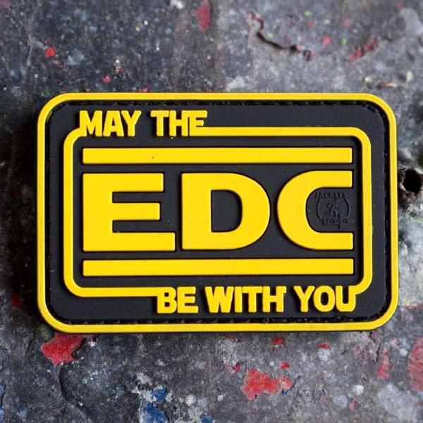 Bilde av Patch - EDC Rubber - Gul