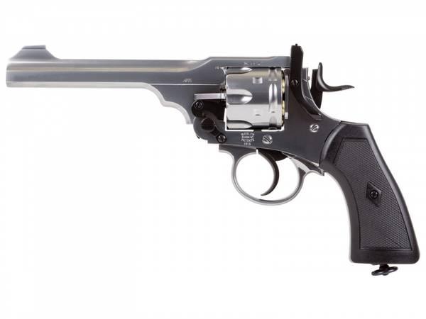 Bilde av Webley - MKVI Service Revolver 4.5mm BB - Silver